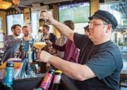 Spannende Biere aus dem Thurgau gibt es im «Peggy's» zu degustieren. (Bild: Donato Caspari)
