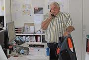Herbert Rutz hört als Werkhofleiter auf, weil er pensioniert wird. (Bild: pd)