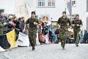 Der Frauenfelder Militärwettmarsch gehört auch nächstes Jahr zum Jahresprogramm. (Bild: Reto Martin)