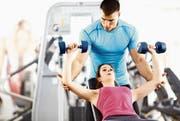 Im Januar wird in Fitnesscentern besonders viel trainiert. (Bild: PD)
