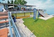 Strandbad-Restaurant: Am Karfreitag geht es mit der Mutzner AG los.