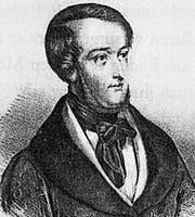 So sah Richard Wagner 1849 auf dem Fahndungsplakat aus.