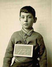 Pavel Hoffmann nach seiner Ankunft in St.Gallen. (Bild: PD (St. Gallen 7. Februar 1945))