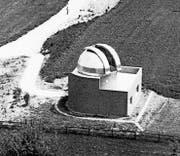 Aufnahme aus dem Jahr 1969: Damals befand sich die Sternwarte in Kreuzlingen-Bernrain noch im Bau. (Bild: PD)