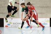 Andrea Ressnig (rechts) und ihre Teamkolleginnen wurden für eine gute Leistung schlecht belohnt. (Bild: Mario Gaccioli (Frauenfeld, 17. Dezember 2017))