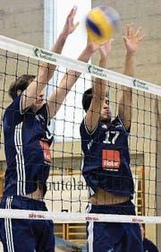 Kreuzlingens NLB-Volleyballer holten vier Punkte aus den ersten zwei Begegnungen. (Bild: PD)