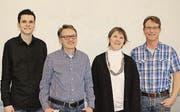 Adrian Rechsteiner, Daniel Graber, Sonja Rechsteiner, Rolf Bleiker. (Bild: pd)