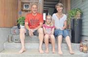 Thomas, Livia und Jacqueline Himmelberger (Sohn Jan fehlt).