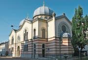 Die Synagoge in Basel: Die Israelitische Gemeinde schreibt seit Jahren rote Zahlen. (Bild: WikiMedia)