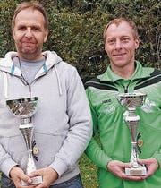 Sieger Jürgen Binner (links) und Peter Müntener. (Bild: PD)