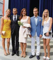 Elisabeth und Daniel Model mit Sarah, David und Valerie. (Bild: AUTOR)
