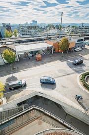 Der Weinfelder Bahnhof und seine Umgebung sorgen immer wieder für Gesprächsstoff. (Bild: Reto Martin)