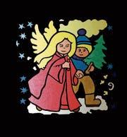 Bis Weihnachten wird in Untereggen jeden Abend ein dekoriertes Adventsfenster geöffnet. (Bild: zVg)