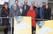 Das überparteiliche Thurgauer «Nein-zu-No-Billag»-Komitee will dafür kämpfen, dass der Frontalangriff auf die Schweizer Medienvielfalt scheitert. (Bild: Christof Lampart)