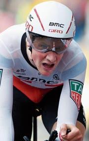Stefan Küng hat im Zeitfahren eine grosse Chance ausgelassen. (Bild: Christophe Ena/AP)