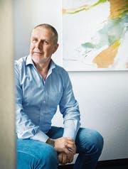 Gemeindepräsident Othmar Schmid geht nächstes Jahr in Pension. (Bild: Andrea Stalder)