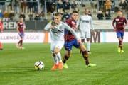 Roberto Alves erkämpfte sich in seinem ersten Einsatz mit dem FC Wil einen Punkt gegen Aufstiegsaspirant Servette. (Bild: Gianluca Lombardi)