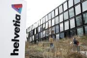 Das Hauptgebäude der Helvetia Versicherung in St.Gallen. (Bild: MARTIN RUETSCHI (KEYSTONE))