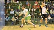 Werden sich wie im Playoff-Halbfinal letzten Frühling erneut in Uster duellieren: Rudi Rohrmüller (links) und Jens Schoor. (Bild: Robert Kucera)