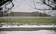 Hier soll einst gebaut werden: Der Neubau des Herz-Neuro-Zentrums Bodensee ist südöstlich des Kantonsspital Münsterlingen geplant. (Bild: Reto Martin)