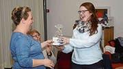 Daniela Preisig und die neue Präsidentin Annelies Schaefer. (Bild: PD)