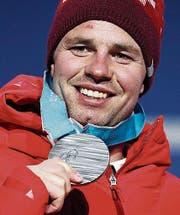 Beat Feuz, zweifacher Schweizer Medaillengewinner. (Bild: EPA)