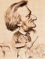 Mann von Einfluss: Richard Wagner in einer zeitgenössischen Karikatur.