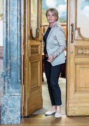 Gut vernetzt und engagiert: Elisabeth Schneider-Schneiter. (Bild: Alessandro Della Valle/KEY (Bern, 13. Juni 2017))