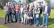 Junge Texte 2: Die acht Preisträgerinnen und Preisträger, das Organisationsteam und der Vertreter der Lions-Bewegung Thurgau. (Bild: pd)