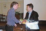 Lukas Rühli (links) und Urs Stillhard, FDP Mosnang. (Bild: pd)