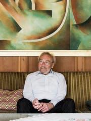 Im Elternhaus in Gais verbringt Hans Peter Fitzi heute seine Ferien. (Bild: Mareycke Frehner)