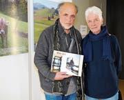 Das Künstlerpaar H.R. und Verena Fricker aus Trogen. (Bild: Astrid Zysset)