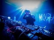 Der Buchser DJ MadVamp legt am kommenden Samstag im Krempel auf. (Bild: Angelina Wegman)