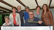 Der Vorstand: Judith Brauchli, Elfi Wahrenberger, Markus Koch, Margrit Bachmann, Roger Ammann, Christa Limi, Monika Rutz. (Bild: Werner Lenzin)
