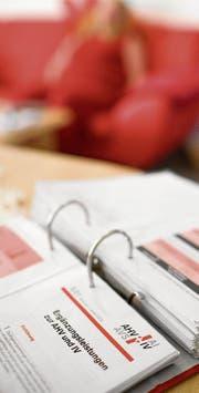 Beim Kanton kümmert sich eine Fachstelle um die Bekämpfung von Versicherungsmissbrauch. (Bild: Martin Ruetschi/KEY)