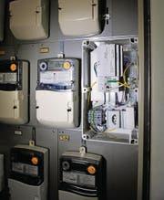 Smart Meter erfassen den Stromverbrauch elektronisch und leiten ihn an den Energieversorger weiter. (Bild: Hanspeter Schiess)