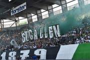 Nach dem Auswärtssieg in Basel darf der FC St.Gallen am Sonntag wieder vor eigenem Publikum spielen. (Bild: Keystone)