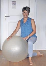 OK-Präsidentin Franziska Padrun arbeitet als Pilatestrainerin und Bewegungspädagogin. (Bild: Stefan Etter)