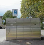 Das neue WC auf dem Oberen Mätteli. (Bild: Stefan Hilzinger)