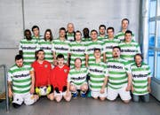Das Team der Bodensee-Kickers von Plussport Thurgau. (Bild: SRF)