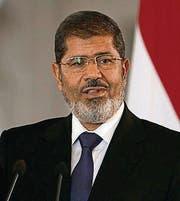 Mohammed Mursi (Bild: ap)