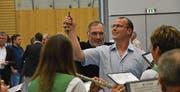 Der frischgewählte Gemeindepräsident Renato Truniger wird künftig auch den Gemeinderat von Mosnang dirigieren. (Bild: Ruben Schönenberger)