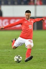 Beim WM-Testspiel gegen Panama ist der Stürmer Mario Gavranovic an drei von sechs Toren direkt beteiligt. (Bild: PETER SCHNEIDER (KEYSTONE))