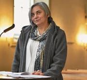 Rozi Menzi ist als Nähleiterin in der Kreativgruppe für Ausländerinnen und Schweizerinnen der reformierten Kirche Herisau tätig. (Bild: CAL)