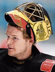 Spielt der 30-jährige Goalie Leonardo Genoni an Olympia sein bestes Eishockey, kann die Schweiz weit kommen. (Bild: Steffen Schmidt/Freshfocus)