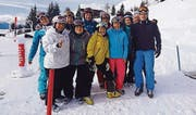 Mitglieder des STV Salez am traditionellen Skiweekend. (Bild: pd)