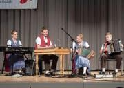 Geschwister Sutter triumphieren an Talentwettbewerb (Bild: Urs Bucher)