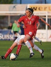 Noelle Maritz in einem Spiel der Schweizer U17-Nationalmannschaft. (Bild: pd)