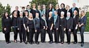 Aktuell sind 26 Frauen Mitglieder des Frauenchors Frohsinn. Geleitet wird der Chor von Brigitte Sennhauser. Präsidentin ist Johanna Federer. (Bild: PD)