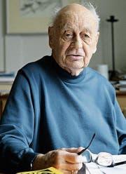 Fridolin Trüb (1919-2017) (Bild: Philipp Baer (St. Gallen, Nov. 2007))